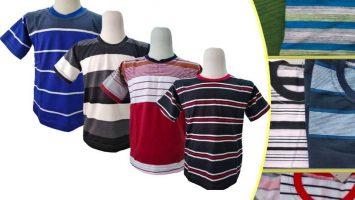 Grosir Baju Murah Surabaya,SMS/WA ORDER ke 0857-7221-5758 Pabrik Kaos Salur Anak Murah di Surabaya
