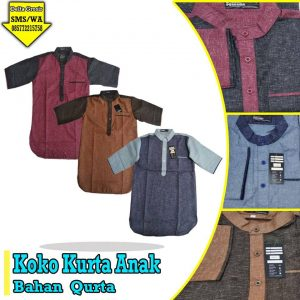Grosir Baju Murah Surabaya,SMS/WA ORDER ke 0857-7221-5758 Pabrik Koko Kurta Anak Murah di Surabaya