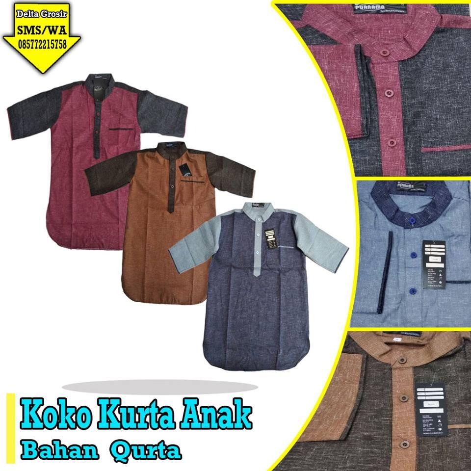 Grosir Baju Murah Surabaya,SMS/WA ORDER ke 0857-7221-5758 Produsen Koko Kurta Anak Murah di Surabaya