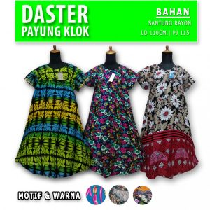 Grosir Baju Murah Surabaya,SMS/WA ORDER ke 0857-7221-5758 Distributor Daster Payung Klok Murah di Surabaya