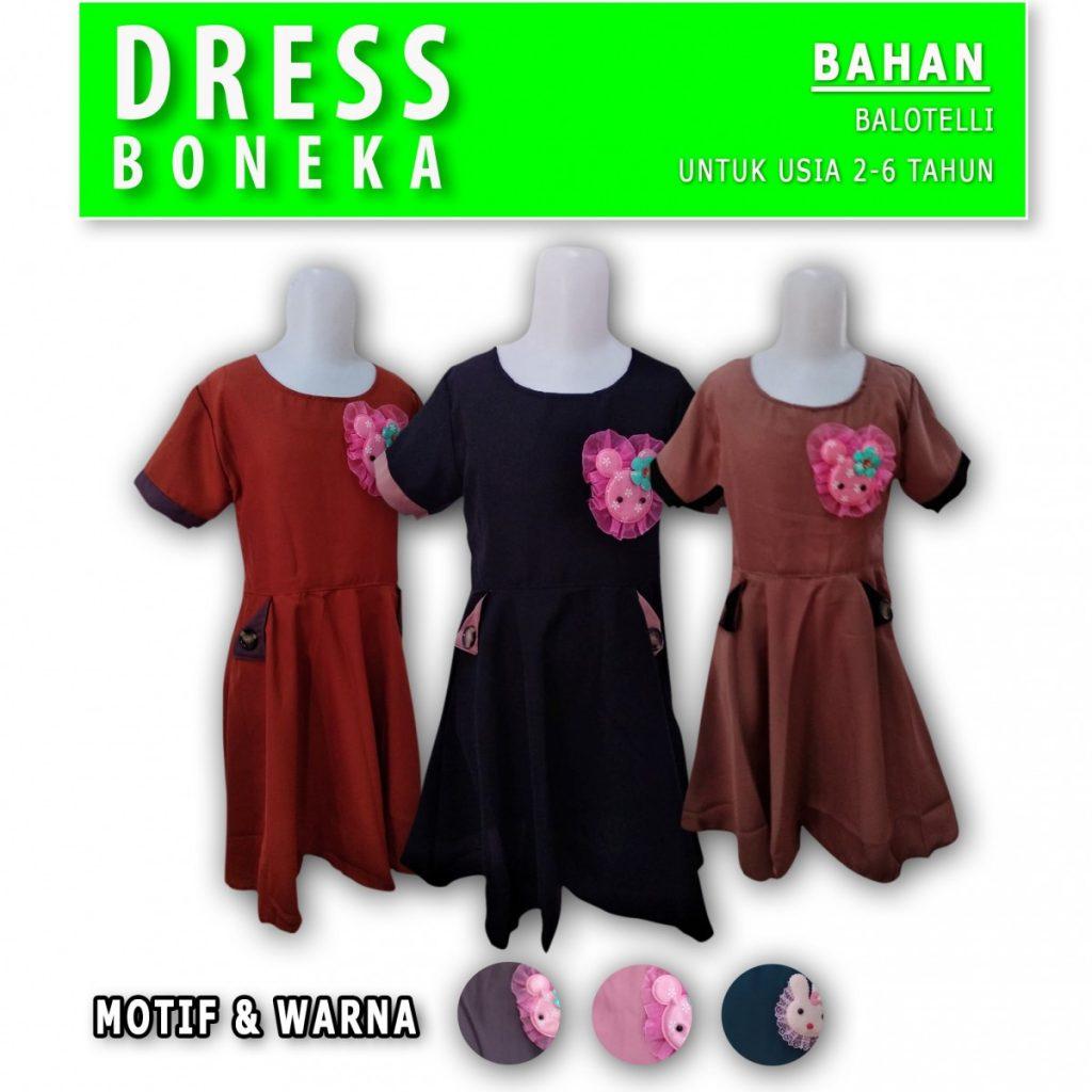 Grosir Baju Murah Surabaya,SMS/WA ORDER ke 0857-7221-5758 Pusat Grosir Dress Boneka Murah di Surabaya