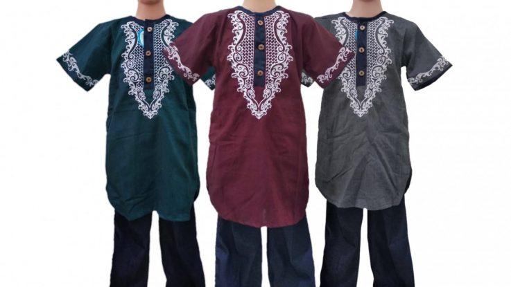 Grosir Baju Murah Surabaya,SMS/WA ORDER ke 0857-7221-5758 Pusat Kulakan Koko Vizar Pakistan Anak Murah di Surabaya