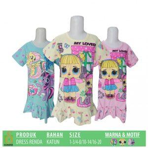 Grosir Baju Murah Surabaya,SMS/WA ORDER ke 0857-7221-5758 Grosir Dress Renda Anak Murah di Surabaya