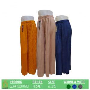 Grosir Baju Murah Surabaya,SMS/WA ORDER ke 0857-7221-5758 Pabrik Celana Kulot Plisket Dewasa Murah di Surabaya