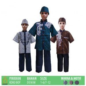 Grosir Baju Murah Surabaya,SMS/WA ORDER ke 0857-7221-5758 Pabrik Koko Boy Anak Murah di Surabaya