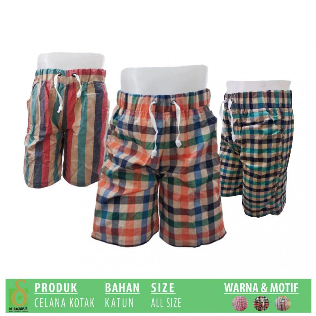 Grosir Baju Murah Surabaya,SMS/WA ORDER ke 0857-7221-5758 Pusat Grosir Celana Kotak Anak Murah di Surabaya