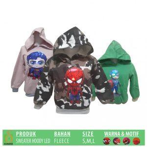 Grosir Baju Murah Surabaya,SMS/WA ORDER ke 0857-7221-5758 Pabrik Sweater Hoody LED Anak Murah di Surabaya