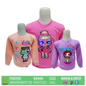 Grosir Baju Murah Surabaya,SMS/WA ORDER ke 0857-7221-5758 Produsen Sweater Motif LED Murah di Surabaya