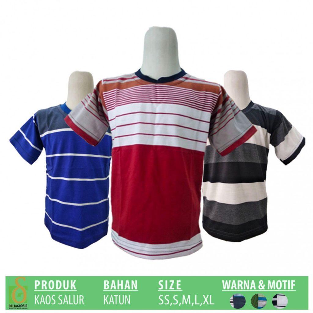 Grosir Baju Murah Surabaya,SMS/WA ORDER ke 0857-7221-5758 Grosir Kaos Salur Anak Murah di Surabaya