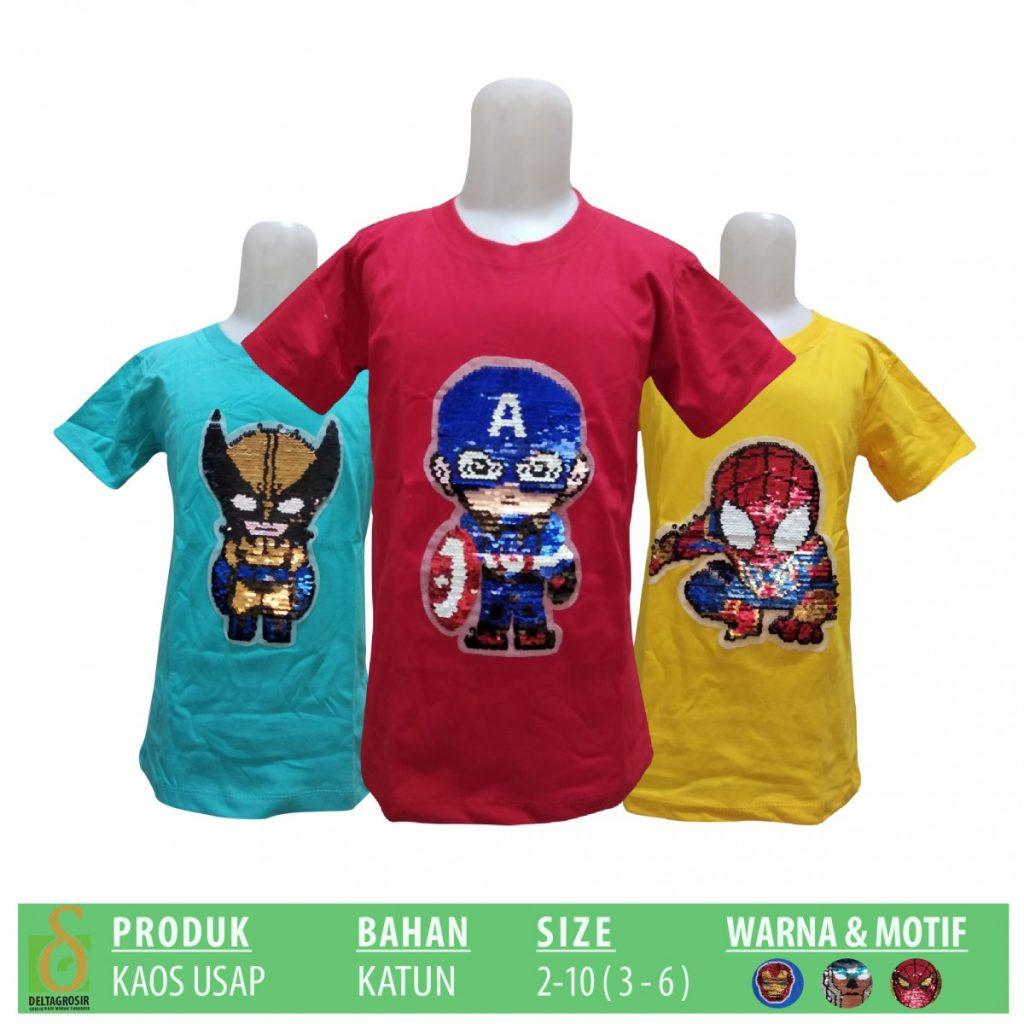 Grosir Baju Murah Surabaya,SMS/WA ORDER ke 0857-7221-5758 Pabrik Kaos Usap Anak Murah di Surabaya