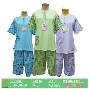 Grosir Baju Murah Surabaya,SMS/WA ORDER ke 0857-7221-5758 Pabrik Baju Tidur Katun 3-4 Dewasa Murah di Surabaya