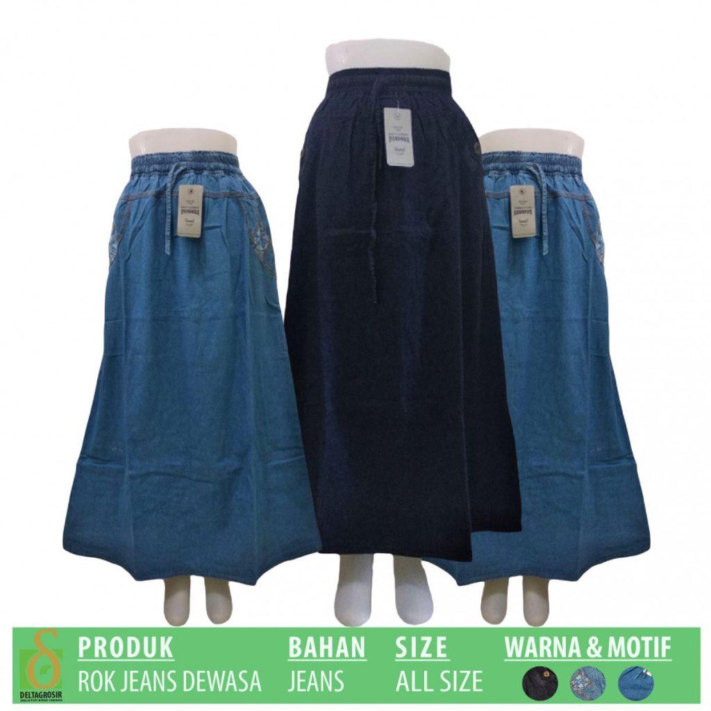 Grosir Baju Murah Surabaya,SMS/WA ORDER ke 0857-7221-5758 Supplier Rok Jeans Dewasa Murah di Surabaya