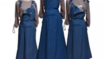 Grosir Baju Murah Surabaya,SMS/WA ORDER ke 0857-7221-5758 Konveksi Rok Jeans Overall Dewasa Murah di Surabaya
