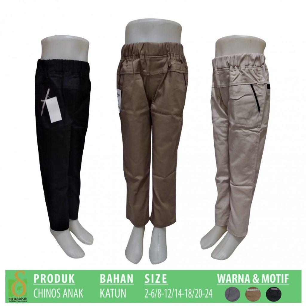 Grosir Baju Murah Surabaya,SMS/WA ORDER ke 0857-7221-5758 Pusat Kulakan Celana Chinos Anak Murah di Surabaya