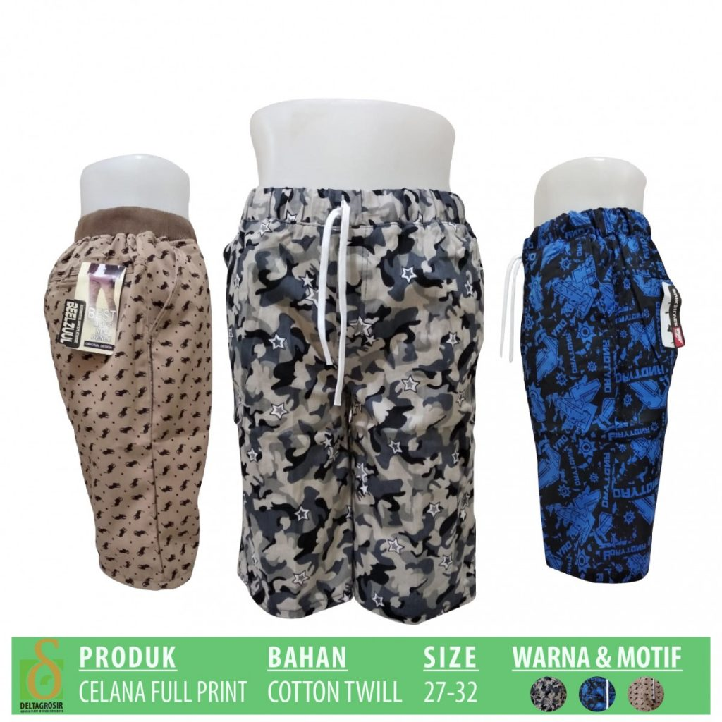 Grosir Baju Murah Surabaya,SMS/WA ORDER ke 0857-7221-5758 Produsen Celana Full Print Dewasa Murah di Surabaya