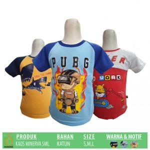 Grosir Baju Murah Surabaya,SMS/WA ORDER ke 0857-7221-5758 Pabrik Kaos Minerva Anak Murah di Surabaya