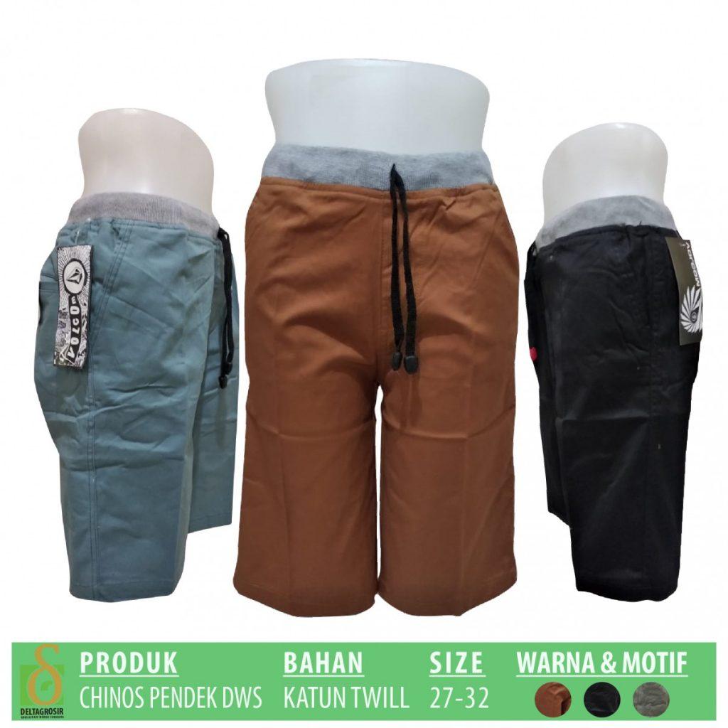 Grosir Baju Murah Surabaya,SMS/WA ORDER ke 0857-7221-5758 Produsen Celana Chinos Dewasa Pendek Murah di Surabaya