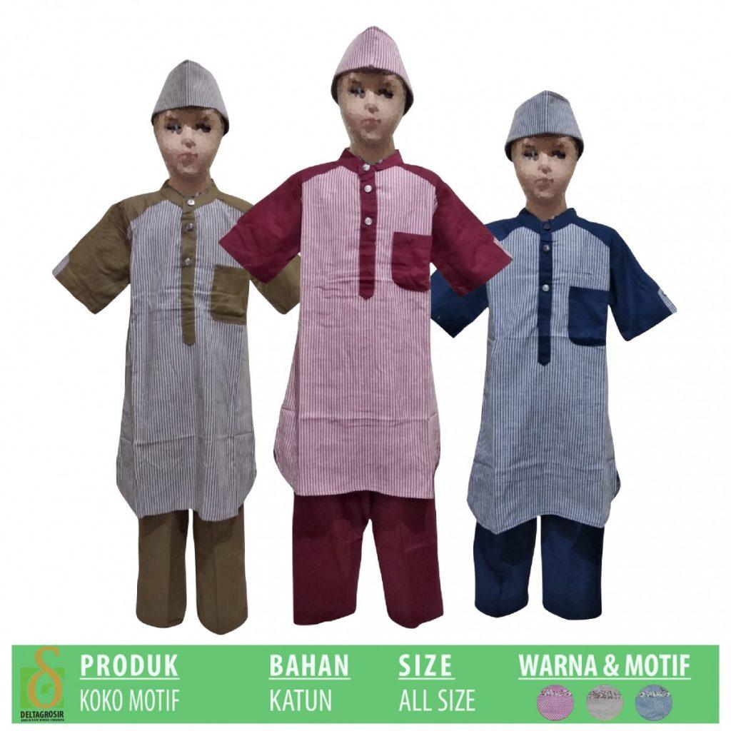 Grosir Baju Murah Surabaya,SMS/WA ORDER ke 0857-7221-5758 Pabrik Koko Motif Anak Murah di Surabaya