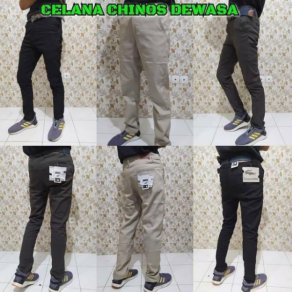 Grosir Baju Murah Surabaya,SMS/WA ORDER ke 0857-7221-5758 Distributor Celana Chinnos Panjang Dewasa Sidoarjo