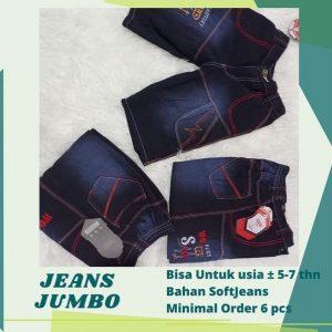 Grosir Baju Murah Surabaya,SMS/WA ORDER ke 0857-7221-5758 Jeans Jumbo Pendek