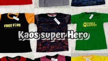 Grosir Baju Murah Surabaya,SMS/WA ORDER ke 0857-7221-5758 Grosir Termurah Kaos Superhero Lelang Di Jawa Timur